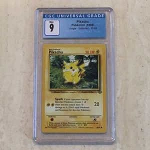 Pikachu Pokémon 60/64 Jungle 1999 CGC 9